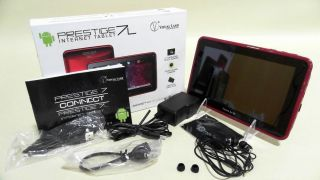 Visual Land 8GB Android WiFi Music Gaming Prestige 7L Internet Tablet Red 2A5T 6 828063410778