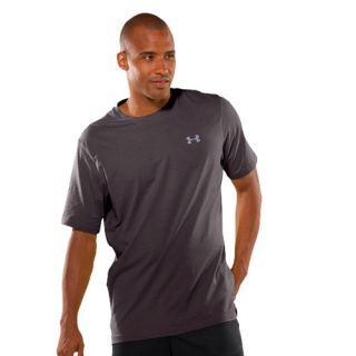 Under Armour Charged Cotton Mens Tshirt Grey Tshirts Short Sleeve Carbon Heather