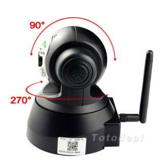 Wireless IP Cam Webcam Pan Tilt Security Camera Android iPhone View Night Vision