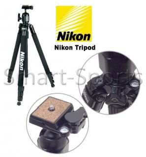 Nikon DSLR Tripod Professional Tilt Pan Head Digital Camera Video Box Bag