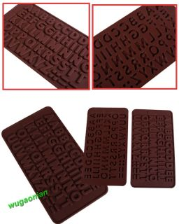 Chocolate Cake Cookie Muffin Candy Jelly Baking Silicone Bakeware Mould Mold