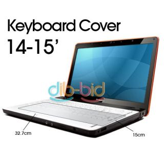 "Laptop Notebook Keyboard Cover Skin Protector 14"" 15"""