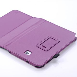 Folio Style Cover Case for Samsung Galaxy Note 8 Purple