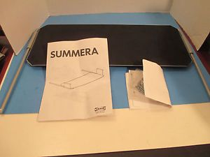 Unused IKEA Metal Pull Out Desk Tray Summera PQR 10035 Keyboard Drawer