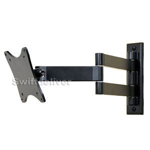 "Articulating Tilt Swivel LCD LED TV Monitor Wall Mount 17 19 22 23 24 26 27"" C1A"