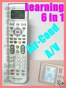 Universal LCD Learning Remote Control TV Timer Air Cond