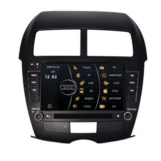 Car GPS Navigation Radio TV DVD for 2010 12 Mitsubishi ASX Outlander Sport