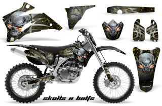 Yamaha YZ250F YZ450F 06 09 Graphics Kit Decals Snbmynpr