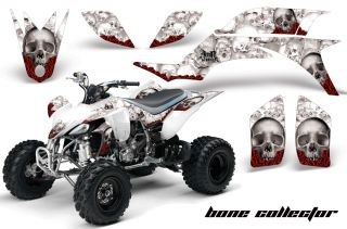 AMR Racing ATV Graphic Wrap Off Road Decal Sticker Kit Yamaha YFZ 450 04 08 BCW
