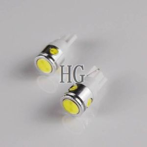 2pcs White 2 5W T10 W5W 4 LEDs Car Wedge High Power LED Light Bulbs Lamp 12V New