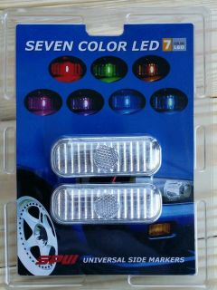 Universal 7 Color LED Side Markers