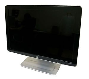 "HP 20"" Widescreen Flat Panel LCD Monitor W2007 ""Used"""