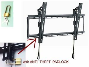 "Tilt Wall Mount Bracket for Samsung 40"" UN40EH5300F LED TV with Anti Theft Lock"