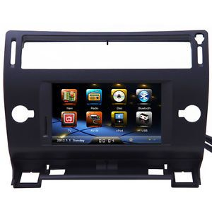 Citroen C4 Car GPS Radio Navigation System DVD Player