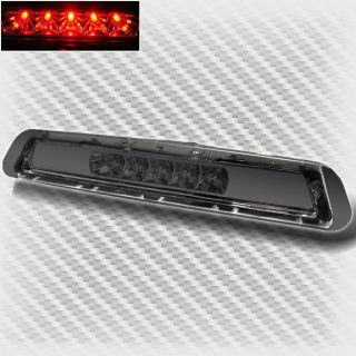 03 05 Toyota 4Runner Smoke Full LED 3rd Third Brake Light Rear Lamp Set