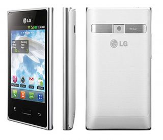 New LG Optimus L3 E400 Unlocked GSM Phone Android 2 3 OS 3 2MP Camera GPS Wi Fi