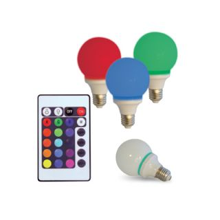Remote Control Color Changing Light Bulb Multi Sensory Room Lighting Autism