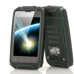 Android Rugged Cell Phone Unlocked GSM Dual Sim Tough Outdoor Military Mobile 2
