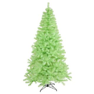 Vickerman 6 Green Chartreuse Artificial Christmas Tree with 350 Green Mini Lights with Stand