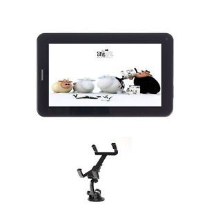 "Irulu 7""Android 4 0 Unlocked Phone Mobile Tablet GSM Bluetooth 4G Vehicle Mount"