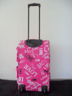 Victoria Secret Pink Travel Wheelie Luggage Bag