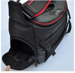 Large Waterproof Shoulder Camera Case Insert Bag for DSLR SLR Nikon Canon Pentax