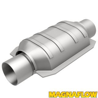 "Magnaflow 94106 Universal High Flow Catalytic Converter Oval 2 5"" in Out"