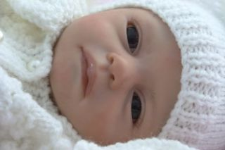 Reborn Preemie Baby Girl Doll Kissable Marita Winters