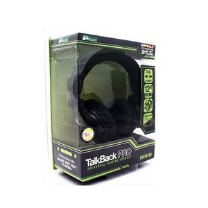 KMD Talkback Pro Universal Gaming Headset PS2 PS3 360 PC