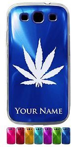 Personalized Aluminum Samsung Galaxy S3 Case Cover Marijuana Leaf Weed Pot