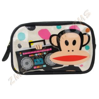 Paul Frank Julius Monkey Boombox Music Cosmetic Travel Case Pencil Bag Loungefly