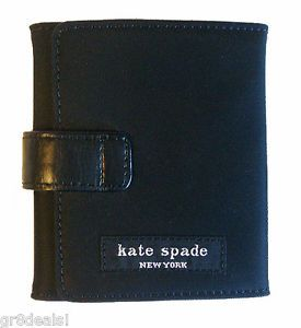 Kate Spade Black Nylon Wallet