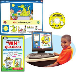 Super Duper WH Questions and Answers Story Based Software Fun Educational Game