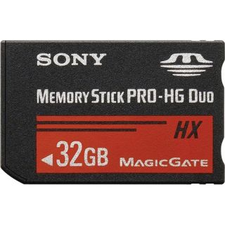 Sony MSHX32B 32GB High Speed Memory Stick Pro HG Duo