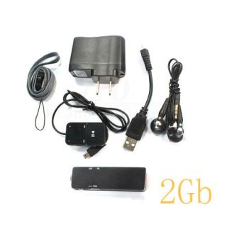 U Disk Shaped Digital Voice Recorder Pen Dictaphone BL