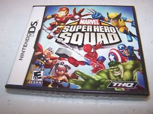 Marvel Super Hero Squad Nintendo DS Lite DSi XL 3DS Complete