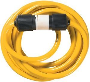 Yellow Jacket Extension Cord 1381 Yellow 25ft 10 4 20Amp Generator Cord