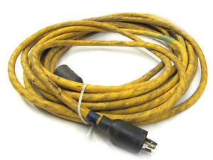 Single Phase 25 Foot Approx Extension Cord 220V