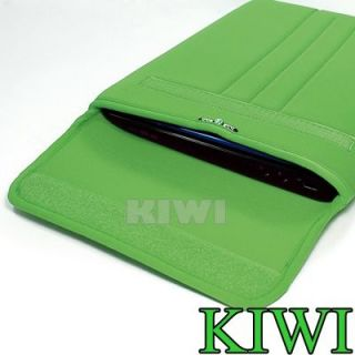 "Green Laptop Sleeve Bag Case for MacBook Air Dell HP Asus Sony IBM Acer 11"" 11 6"