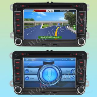 Car DVD GPS Golf Polo Passat CC Jetta Tiguan Touran EOS Sharan Scirocco Caddy
