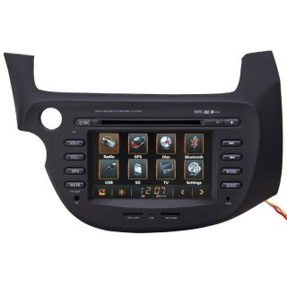 New Car GPS Navigation Radio HD Touch Screen TV DVD Player for 2009 11 Honda Fit