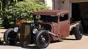 1934 Ford Rat Rod Pickup Musical Instrument Theme