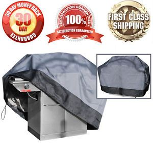 100 Waterproof Barbeque Grill Heavy Duty Cover Outdoor Protection Large 64 Inch
