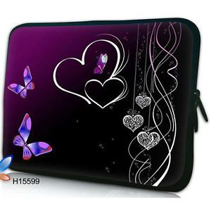 "10"" Sweet Laptop Bag Sleeve Case Netbook Cover for Apple iPad 2 iPad 1 w Covers"