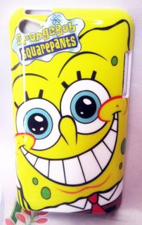 Spongebob Square iPod Touch 4 4th Gen Plastic Hard Case