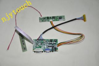 LVDS VGA/DVI controller board DIY for AUO 1920x1080 M215HW02 V0 LED