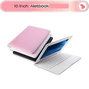 "White 10 1"" inch Android 4 1 HDMI WiFi Webcam 4GB Mini Netbook Laptop"