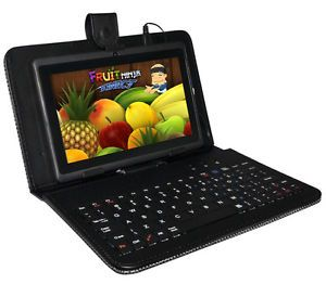 "7"" Capacitive Android 4 0 A13 Tablet PC Netbook with Keyboard Case Bundle"