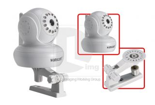 IR LED Light Nightvision Indoor Wireless WiFi 2X Wanscam IP Network Camera Sys