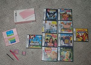 Nintendo DS Lite Super Mario Game